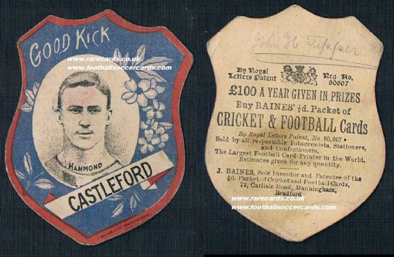 1890s Castleford hammond Rugby Baines